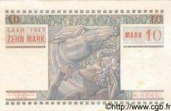 10 Mark SARRE FRANCE  1947 VF.47.01 SUP