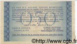 50 Centimes BON DE SOLIDARITÉ FRANCE  1941 KL.01A SPL