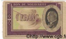 1 Franc FRANCE régionalisme et divers  1941 KL.02A TTB