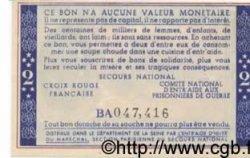 2 Francs BON DE SOLIDARITÉ FRANCE régionalisme et divers  1941 KL.03B NEUF