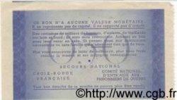 5F sur 50 Centimes BON DE SOLIDARITÉ FRANCE  1941 KL.04A5 SPL