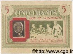 5 Francs BON DE SOLIDARITÉ FRANCE régionalisme et divers  1941 KL.05A SPL