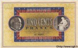 500 Francs BON DE SOLIDARITÉ FRANCE régionalisme et divers  1941 KL.11B SUP+