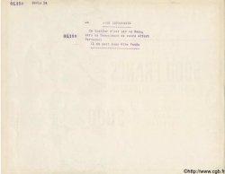 5000 Francs DIPLOME FRANCE régionalisme et divers  1941 KL.06B SPL