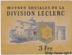 3 Francs FRANCE régionalisme et divers  1944 KL.8 SUP+
