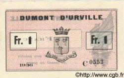 1 Franc FRANCE régionalisme et divers  1936 Kol.186a / KM.208b pr.NEUF