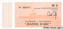 50 Francs FRANCE régionalisme et divers  1981 Kol.225g NEUF