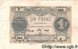 1 Franc FRANCE régionalisme et divers  1871 BPM.012a TTB+