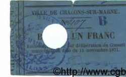 1 Franc FRANCE régionalisme et divers  1871 BPM.043.3 TB