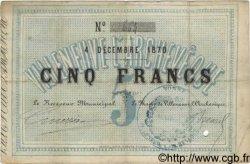 5 Francs FRANCE  1870 BPM.121.02 TTB