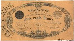 200 Francs 1848 Succursales FRANCE  1848 F.A30.01 TTB+ à SUP