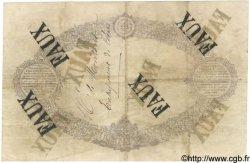 50 Francs INDICES NOIRS FRANCE  1875 F.A38.09 TTB