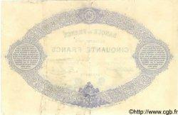 50 Francs INDICES NOIRS FRANCE  1882 F.A38.12 TTB+