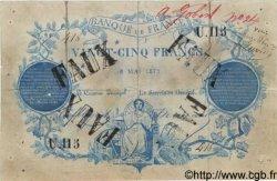 25 Francs CLERMONT FERRAND FRANCE  1871 F.A44.01 TTB