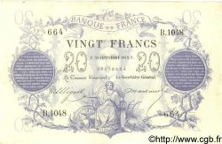 20 Francs 1871 FRANCE  1872 F.A46.03 TTB+
