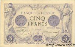 5 Francs NOIR FRANCE  1872 F.01.11 TTB+