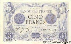 5 Francs NOIR FRANCE  1873 F.01.24 TTB+