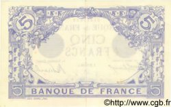 5 Francs BLEU FRANCE  1912 F.02.01 SUP+ à SPL
