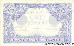 5 Francs BLEU FRANCE  1912 F.02.11 SUP+ à SPL
