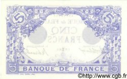 5 Francs BLEU FRANCE  1913 F.02.14 pr.SPL