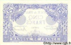 5 Francs BLEU FRANCE  1913 F.02.15 SPL