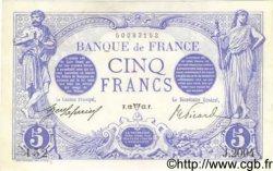 5 Francs BLEU FRANCE  1913 F.02.16 pr.SPL