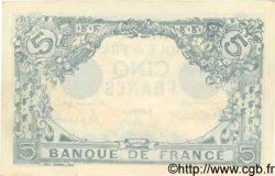 5 Francs BLEU FRANCE  1913 F.02.20 pr.NEUF