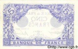 5 Francs BLEU FRANCE  1913 F.02.21 SUP+