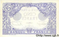 5 Francs BLEU FRANCE  1913 F.02.21 SPL