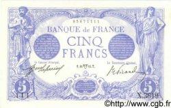 5 Francs BLEU FRANCE  1914 F.02.22 pr.NEUF