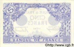 5 Francs BLEU FRANCE  1915 F.02.25 SPL