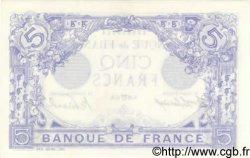 5 Francs BLEU FRANCE  1915 F.02.26 pr.NEUF