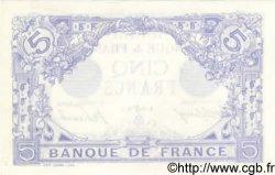 5 Francs BLEU FRANCE  1915 F.02.28 pr.NEUF