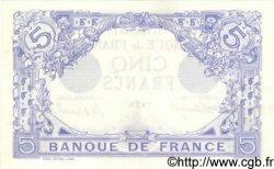 5 Francs BLEU FRANCE  1916 F.02.36 SUP+ à SPL