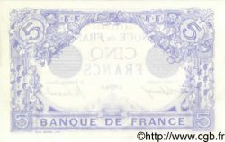 5 Francs BLEU FRANCE  1916 F.02.38 SUP+