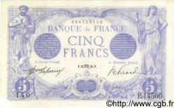 5 Francs BLEU FRANCE  1916 F.02.44 pr.NEUF