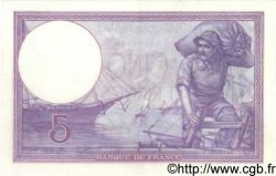 5 Francs VIOLET FRANCE  1917 F.03.01 SUP+