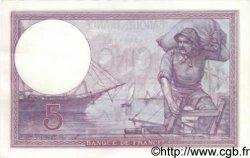 5 Francs VIOLET FRANCE  1920 F.03.04 SPL
