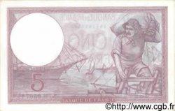 5 Francs VIOLET modifié FRANCE  1939 F.04.14 SPL+