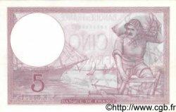 5 Francs VIOLET modifié FRANCE  1940 F.04.17 SPL