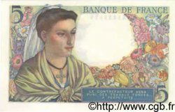 5 Francs BERGER FRANCE  1947 F.05.07 SUP+