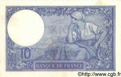 10 Francs MINERVE FRANCE  1917 F.06.02 pr.NEUF