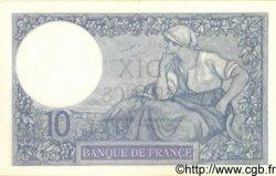 10 Francs MINERVE FRANCE  1922 F.06.06 pr.NEUF
