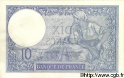 10 Francs MINERVE FRANCE  1923 F.06.07 SPL