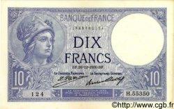 10 Francs MINERVE FRANCE  1930 F.06.14 SPL