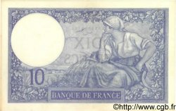 10 Francs MINERVE FRANCE  1930 F.06.14 SPL