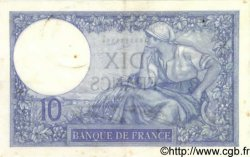 10 Francs MINERVE FRANCE  1932 F.06.16 pr.SUP
