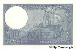 10 Francs MINERVE modifié FRANCE  1939 F.07.06 NEUF