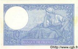 10 Francs MINERVE modifié FRANCE  1939 F.07.14 SUP+