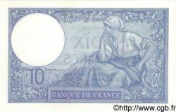 10 Francs MINERVE modifié FRANCE  1939 F.07.14 pr.NEUF